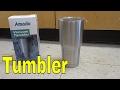 Amado Vacuum Tumbler Review-Stainless Steel Travel Mug