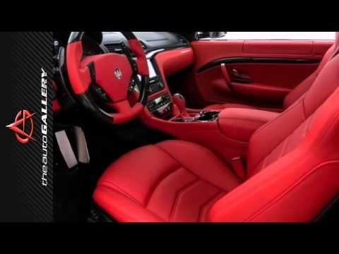 2014 maserati granturismo los angeles calabasas ca for White maserati red interior