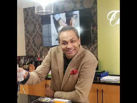 Richard Logan visits The Capital Tailor Inc.