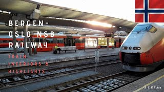 Journey on the Bergen Railway  to Oslo_ Top 10 scenic trains of the world_1920*1080 HD
