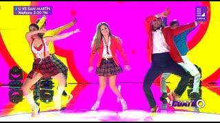 Los Cuatro Finalistas Baile presentó el reto del K-Pop