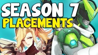 Overwatch Season 7 Placements Tips / Guide - How To Win Placement Matches Overwatch Competitive S7