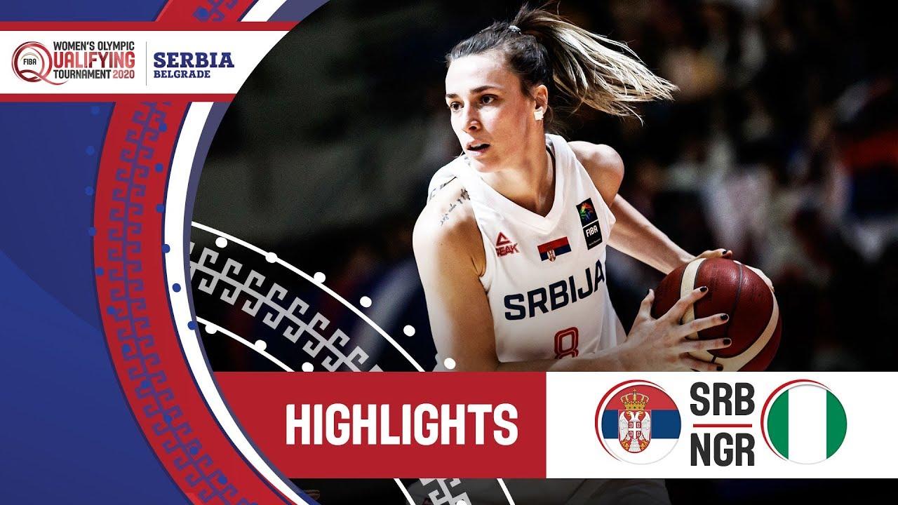 Serbia v Nigeria - Highlights - FIBA Women's Olympic Qualifying Tournament 2020