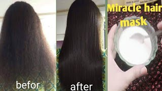 Keratin Protein Hair mask for Dry damaged frizzy hair