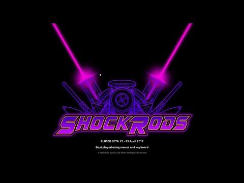 ShockRods beta 2 gameplay