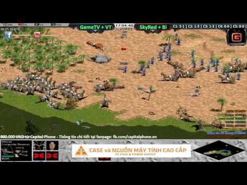 GameTV + Vô Thường vs SkyRed + BiBi ngày 05 12 2016 C4T1