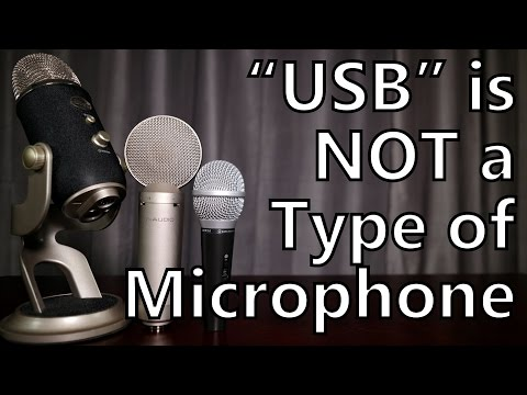 """USB"" is NOT a Type of Microphone: A Guide for Podcasting and Home Recording"