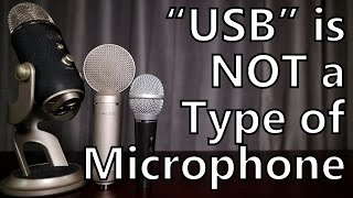 usb is not a type of microphone a guide for podcasting and home recording