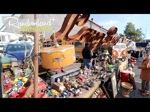 So Cal's EPIC Old time Flea Market and a whole new theme.....