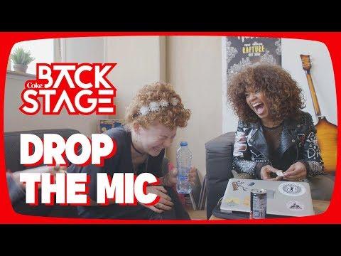 De muziekstudio in samen met Shary-An! – Backstage #1