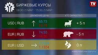 InstaForex tv news: Кто заработал на Форекс 05.03..2019 15:00