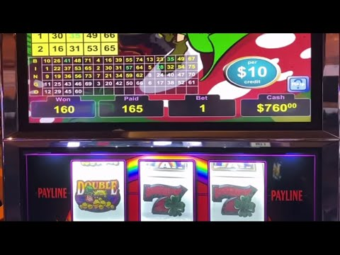 Jackpot $1,600 on VGT The Lucky Leprechaun $10 Slot - Live Slot Play at Casino Choctaw