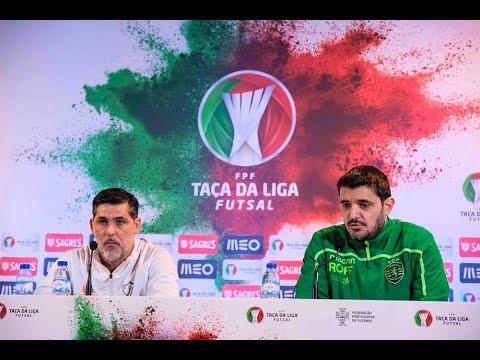 Taça da Liga Futsal  Antevisão do Eléctrico FC - Sporting CP - YouTube 90cf2f3ebaad0