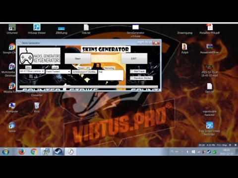Counter strike global offensive skins generator free skins +nobanned+multiplayer!