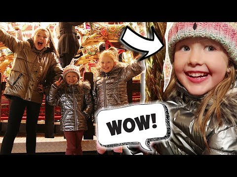 SURPRISING THE GIRLS! - CHRISTMAS MARKET!