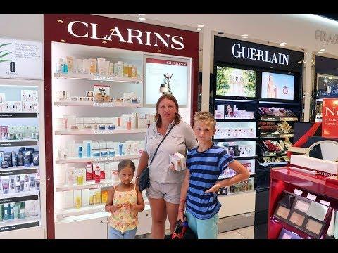 Магазин Дьюти фри (duty Free) в аэропорту Анталии. Цены на парфюм