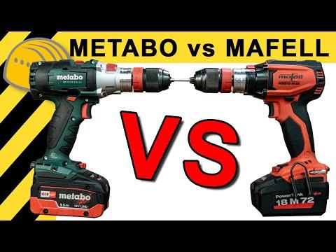 metabo vs mafell welcher ist der beste akkuschrauber werkzeug news 36 youtube. Black Bedroom Furniture Sets. Home Design Ideas