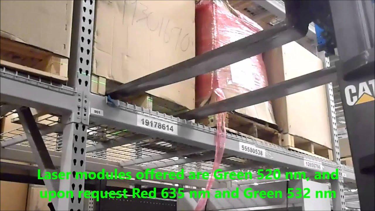 Forklift Laser Alignment System Youtube