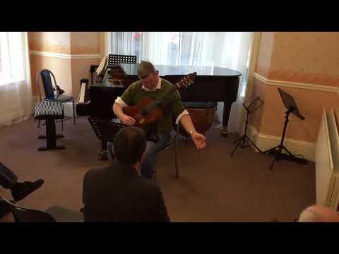 Sternlos by Ian Wilson performed by Belfast guitarist Brian Keenan