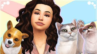 THE SIMS 4 | Cats & Dogs | A NEW START live stream #1