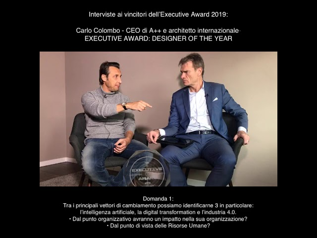 Carlo Colombo (CEO di A++ e Architetto internazionale) - EXECUTIVE AWARD: DESIGNER OF THE YEAR