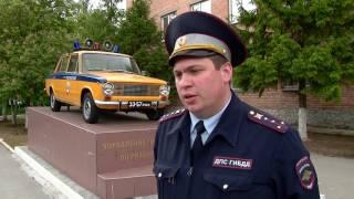 Московские сотрудники ГИБДД в Рязани