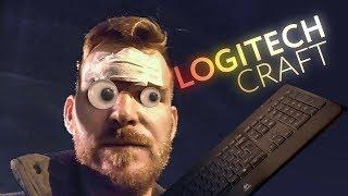 Ломаю клавиатуру Logitech головой в 4k
