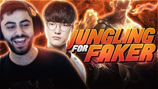 Yassuo | I JUNGLED FOR FAKER!!!