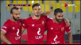 الهدف السابع للنادي الأهلي بقدم حسين الشحات - الأهلي واطلع برة في إياب الدور الـ64