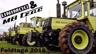 MB Trac & Unimog Feldtage Nordhorn 2018  °Teil 1° //4K//