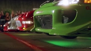 FAST and FURIOUS - Street Race (RX7 vs Civic vs Integra vs Eclipse) #1080HD +car-info