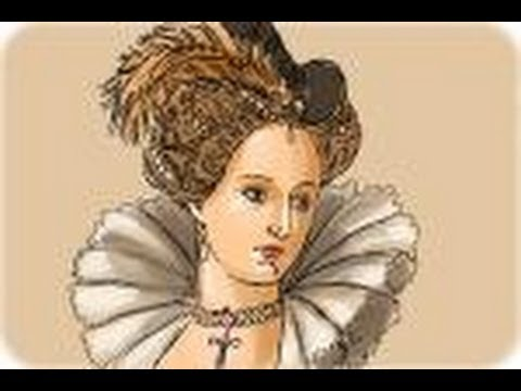 How To Draw The Queen Elizabeth I Youtube