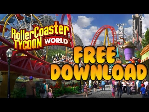 How To Download RollerCoaster Tycoon World for FREE on PC
