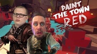 PAINT THE TOWN RED | KAPTEN TRATTSKÄGG | Co-op med figgehn & Whippit | #13