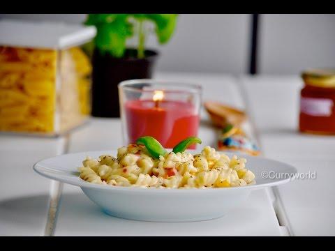 Pasta In White Sauce /White Sauce Pasta .Recipe No-116