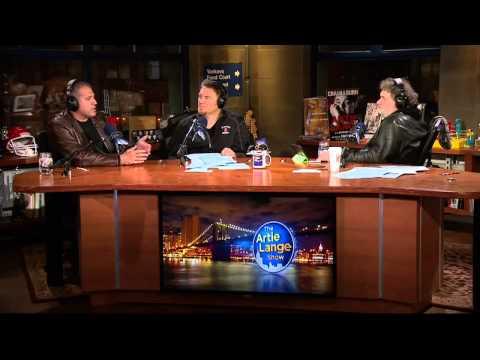 The Artie Lange Show - AJ Benza (in-studio) Part 2