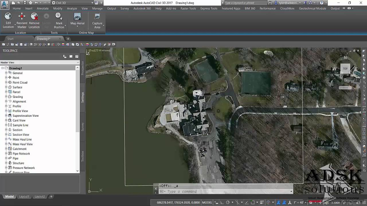 Adding a GeoTIFF to Civil 3D   ADSK Solutions   YouTube Adding a GeoTIFF to Civil 3D   ADSK Solutions