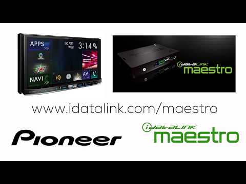 How To - IDatalink Maestro RR On Pioneer AVH-EX In Dash Receivers 2018