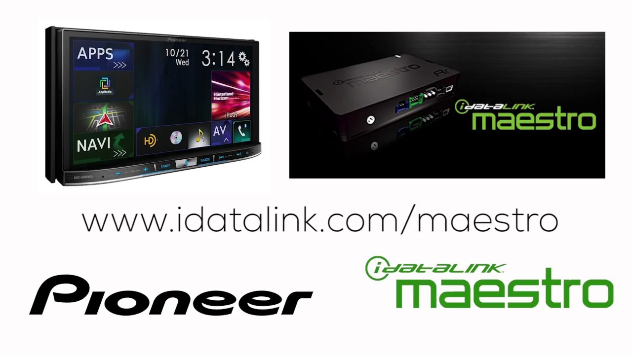 how to idatalink maestro rr on pioneer avh ex in dash receivers 2018 [ 1280 x 720 Pixel ]