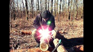 Попытка ОБЛАГОРОДИТЬ деревом старые ножны моего СТАРОГО ножа.