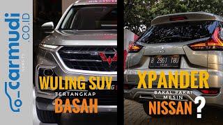 Loh, Xpander Kok Pakai Mesin Nissan? | Wuling SUV Berkeliaran di Jawa Timur!