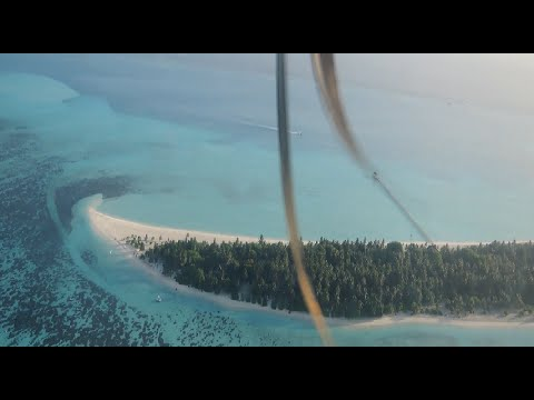 Best Aerial View of Maldives Resort Islands | Holiday Island,  Sun Island,  Maamigili Airport HD