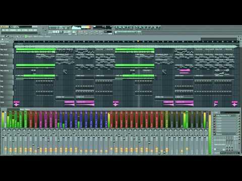 Avicii - The Nights - MTBWillford full FL studio instrumental remake + FLP