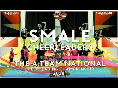 1St Place, SMALE Cheerleaders I @The A Team NCC 2018 [@Neoskylight_Media]