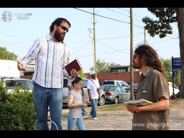 Sean Keefe Demonstrating (2 Tim 2:24-26)
