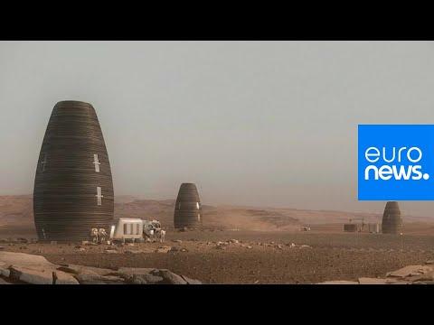 Watch: 3D-printed Mars dwelling wins NASA prize