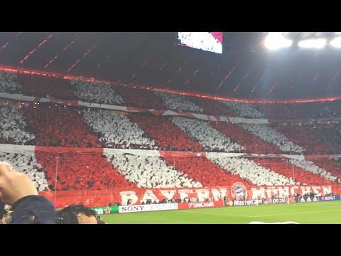 FC BAYERN - Atletico Madrid Champions League Halbfinale 2015/16 Stadium Atmosphere