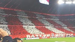 FC BAYERN - Atletico Madrid Champions League Halbfinale 2015/16 Stadium Atmosphere