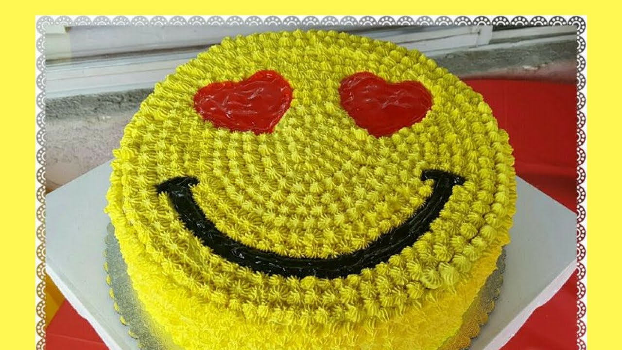 How To Make Emoji Cake Buttercream Videos