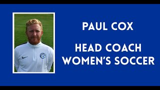 Welcome to Women's Soccer with Paul Cox